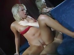 Horny classic pornstar fucked and facialized