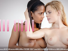 The Studio Scene 1 - Mollycoddle Dream & Isabella Chrystin - VivThomas