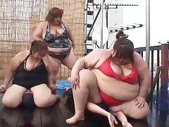 IOD-18 Oborero Woman In Someone's skin Flesh! Japanese BBW