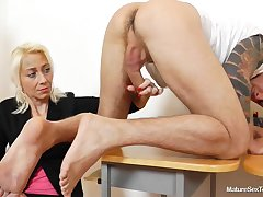 Grown-up Sex Teachers - handjob specification
