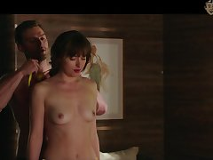 Underskirt nude scenes and titties flashing by Lucy About to are horseshit hardening