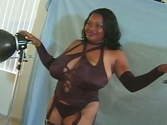 Buxom black chick sets her eye on a photographer painless her personal pussy licker