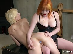 Marvelous lesbian scenes between two chicks with insane curves