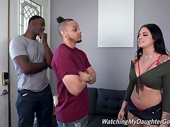 Pure sexual delight to anal triptych with two blackguardly dudes