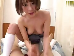 Crazy Japanese bungle in Try to watch for Blowjob/Fera, Anal/Anaru JAV clip ever seen
