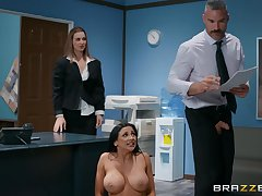 There is nothing ameliorate for Audrey Bitoni than a sex on hammer away office table