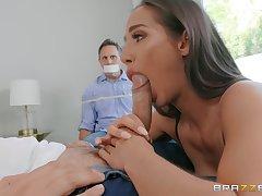 Wife sucks dicka nd fucks in hoax of husband